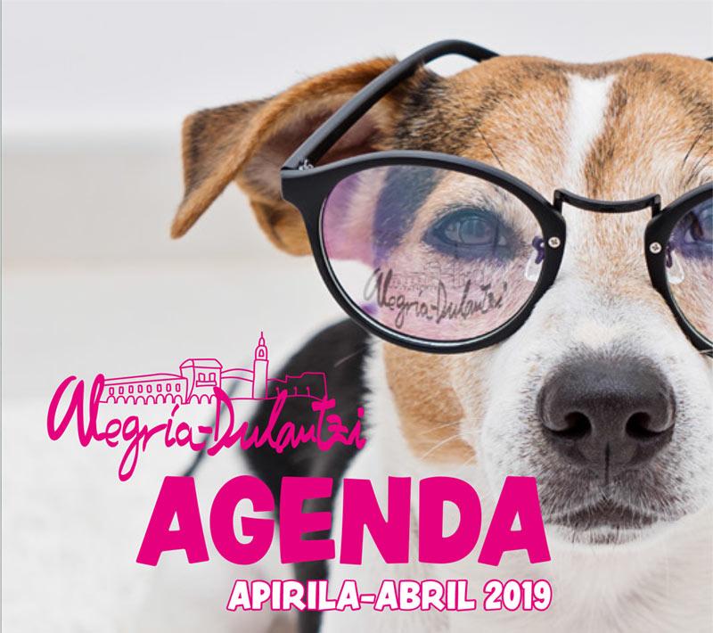 Agenda Actividades abril