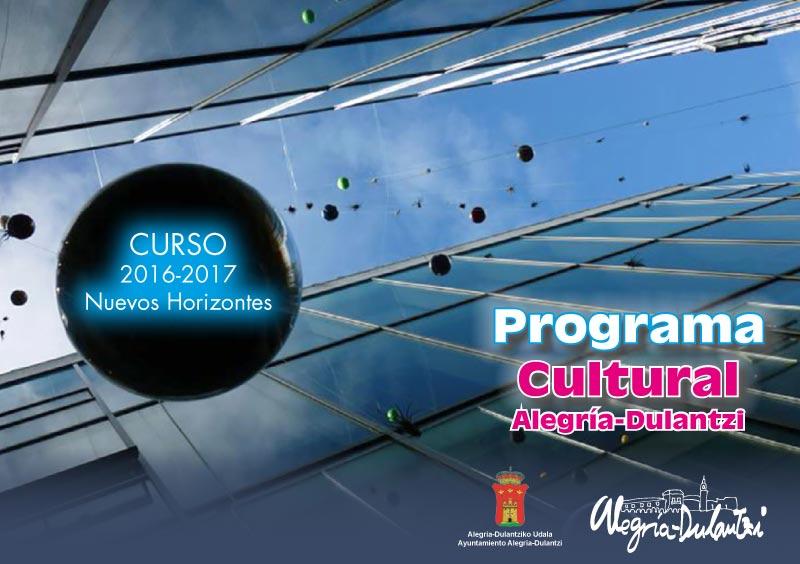 Programa Cultural Alegría-Dulantzi 2016-17