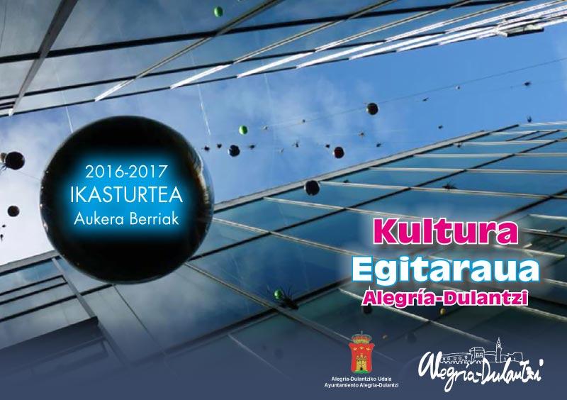 Kultura Egitaraua Alegría-Dulantzi 2016-17