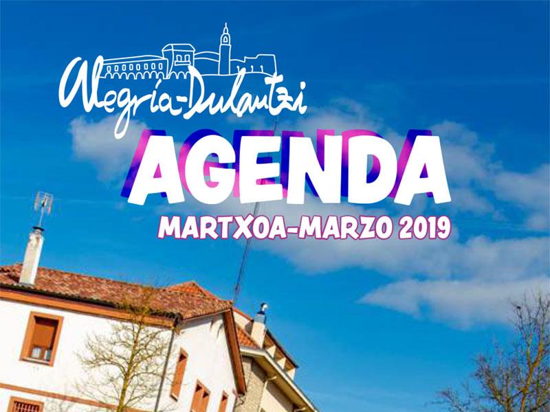 Agenda Actividades Marzo