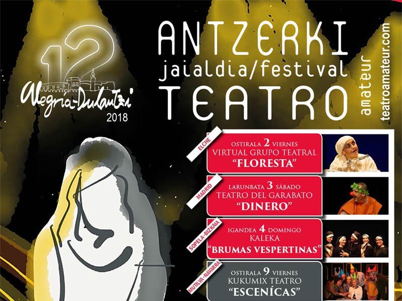 Festival de Teatro Amateur de Alegría-Dulantzi